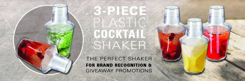 Cocktail Shaker (3-Piece)