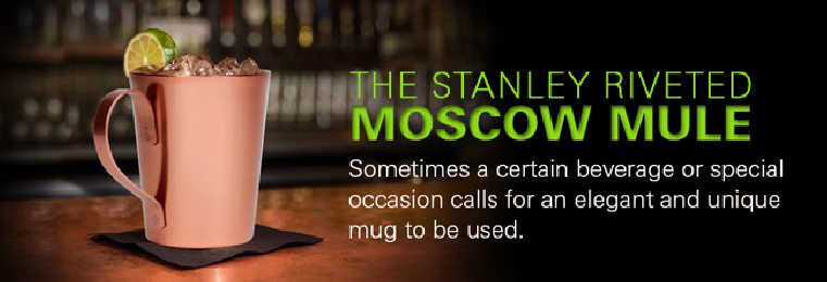 Stanley Riveted Copper Moscow Mule Mug