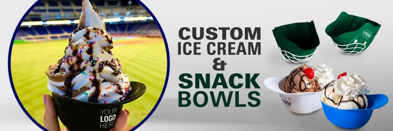 Custom Ice Cream & Snack Bowl