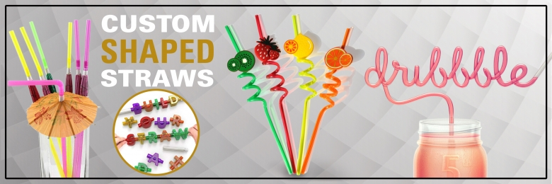 Custom Shaped Straws