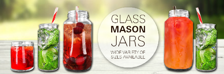 Mason Jars (Glass)