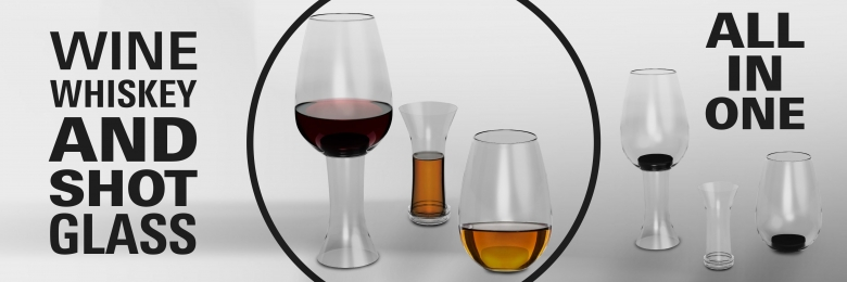 Riedel Style Wine Glass