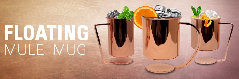 Floating Copper Moscow Mule Mug