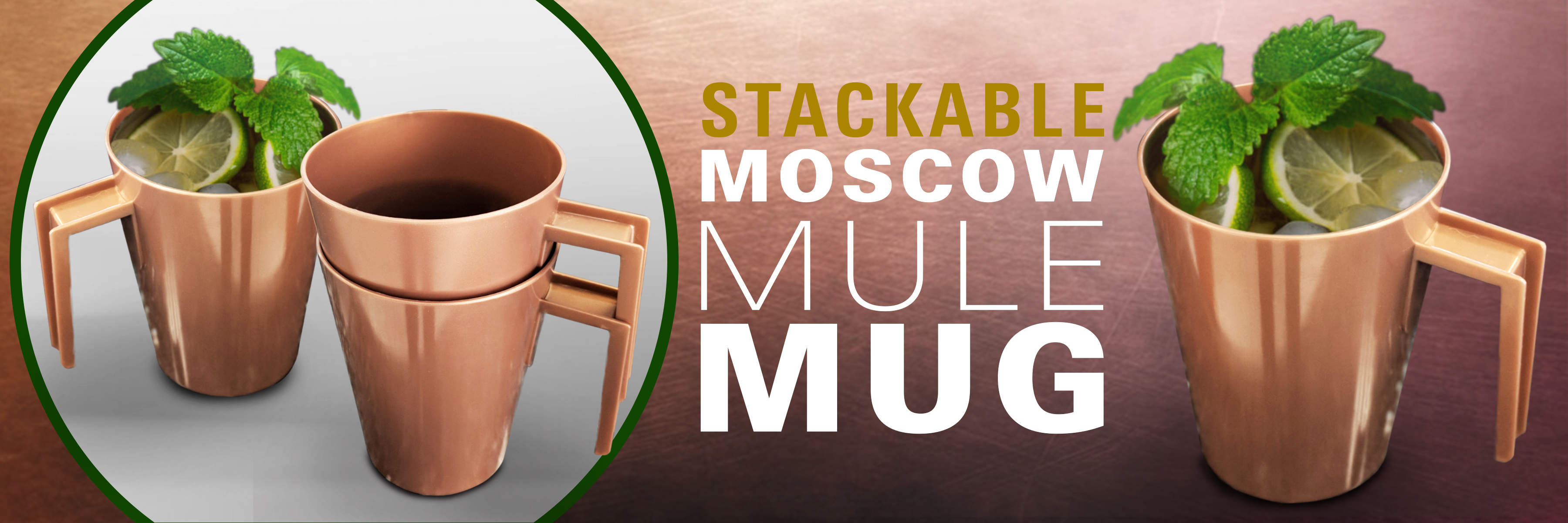 stackable moscow mule mug