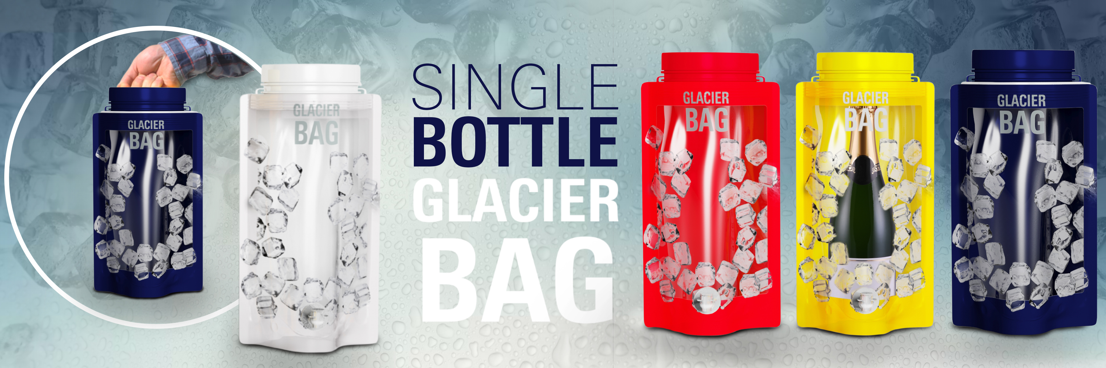 single glacier bag