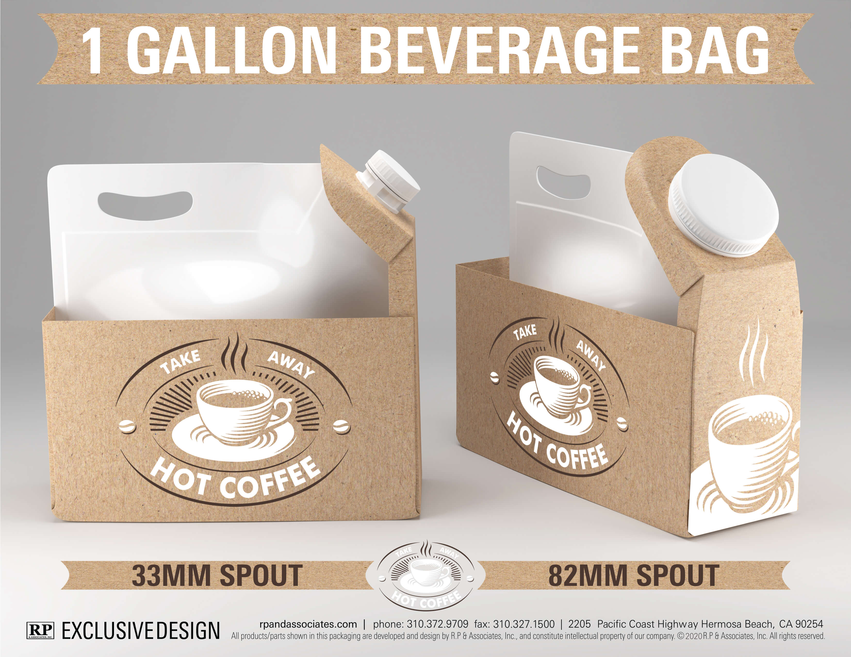 sleeve beverage bag