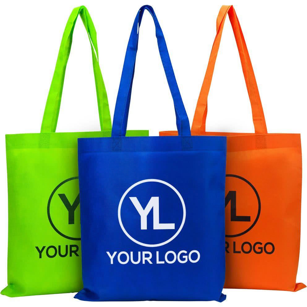 Tote Bags Packaging Custom Branded Products Rp