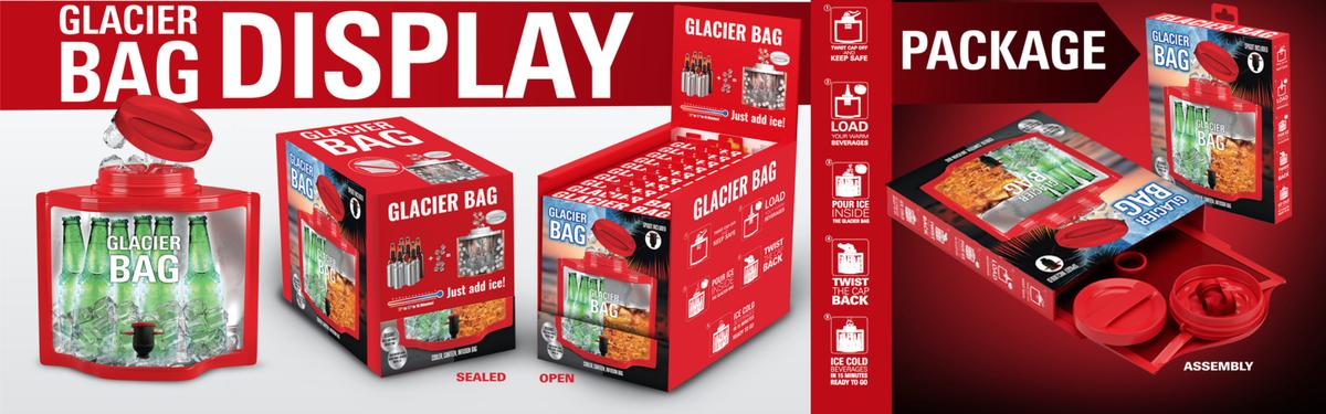 Glacier Bag Retail Packaging