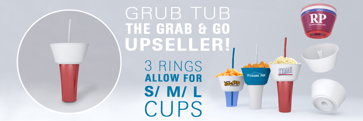Grub Tub Grab & Go Upseller
