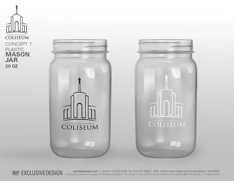 Mason Jars Plastic Drinkware Custom Branded Products Rp