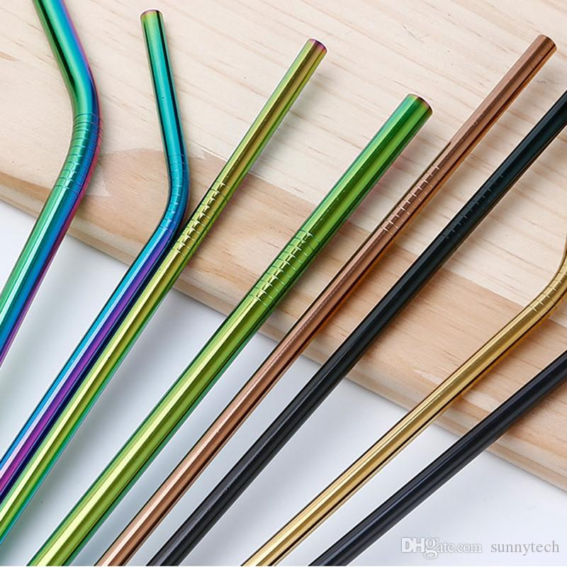 Stainless Steel Straws | Straws | Barware - Custom Branded