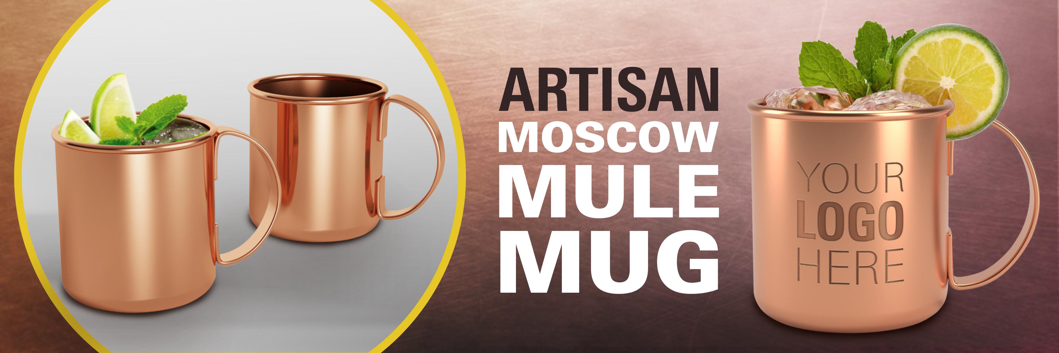 Artisan Copper Moscow Mule Mug