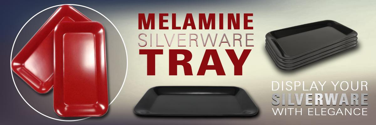 Melamine Silverware Tray