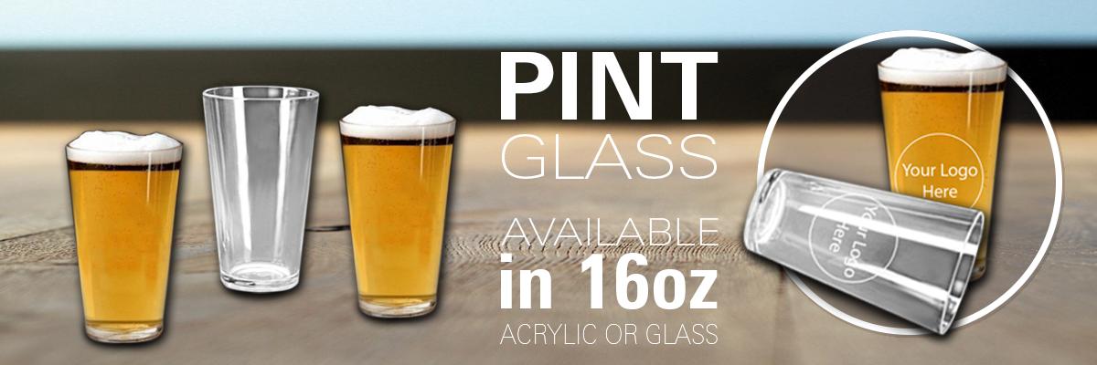 Custom Pint Glasses