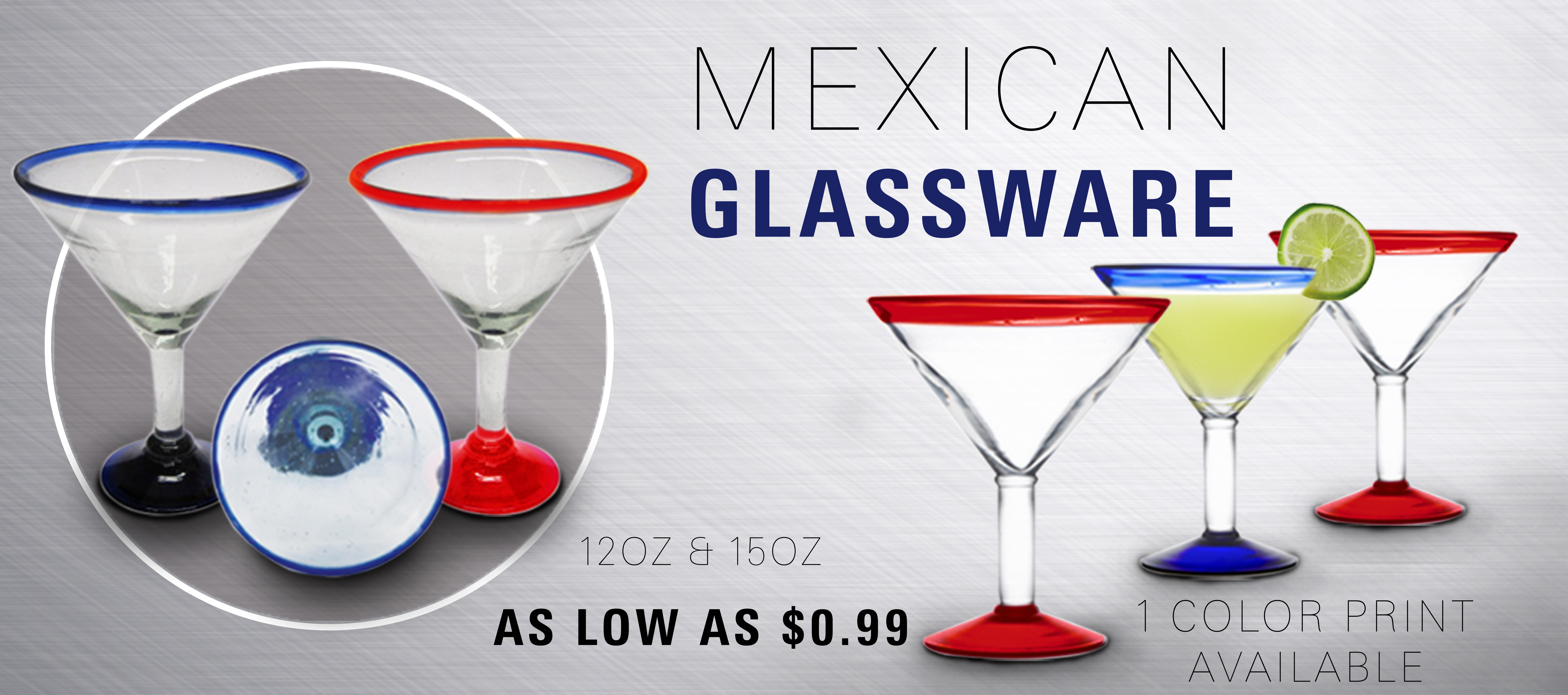 Mexican Margarita Glass
