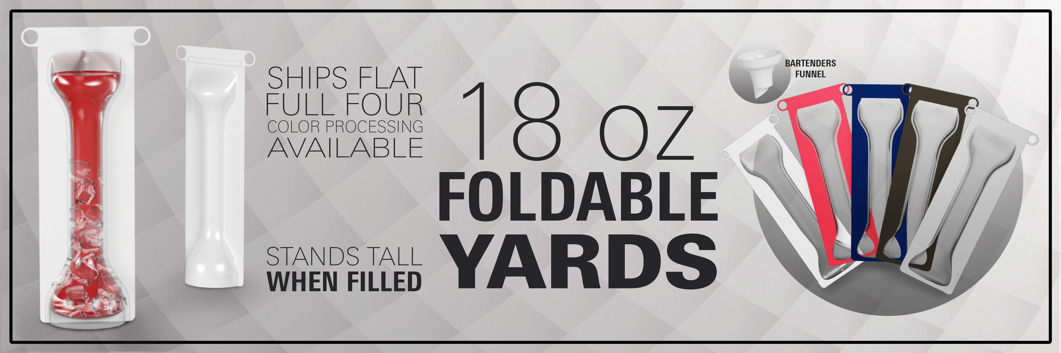 Foldable Yards