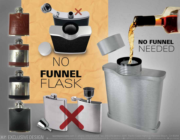 no funnel flask