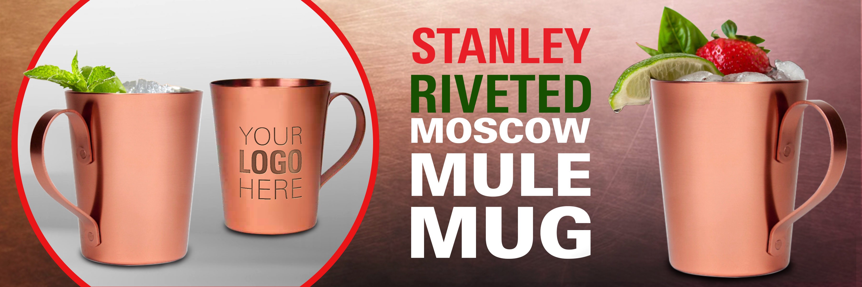 Stanley Riveted Moscow Mule