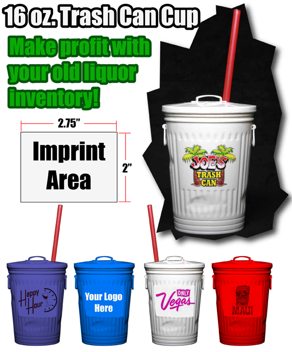 how to make a trash can drink