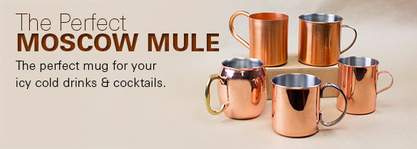 moscow mule mugs as low as 3 - Copper Mule Mugs